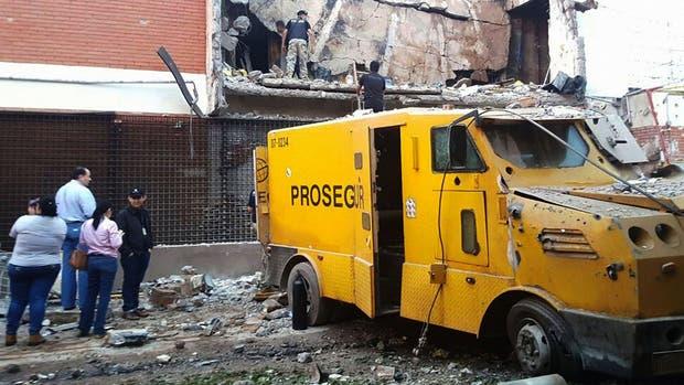 Según Prosegur, el monto robado es mucho menor que el que se pensaba en un principio