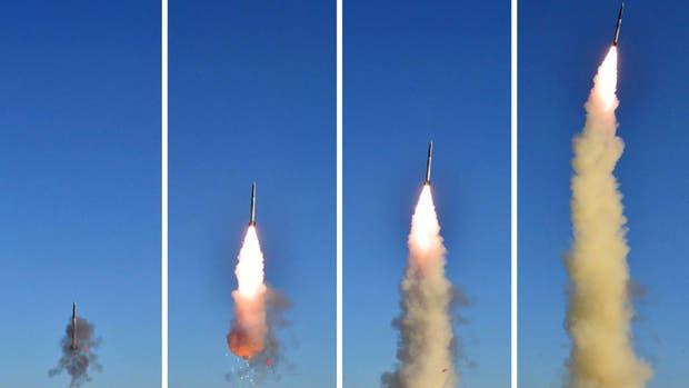 Corea del Norte lanzó hoy lo que pareció ser un misil balístico que cayó en aguas de la zona económica de Japón