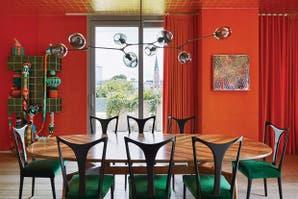 Dos casas con buenas ideas para decorar con color