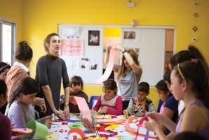 Solidaridad: una tarde creativa con los chicos