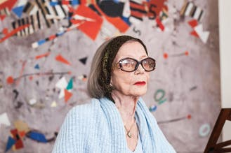 Ides Kihlen: la mujer que a los 100 años pinta con pasión