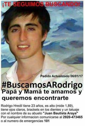 La imagen con la cara de Rodrigo fue ampliamente difundida en las redes sociales durante estos dos años y tres meses