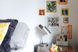 DIY: decorar con fotos y cintas