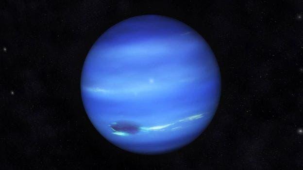 Un puntito celeste en el cielo, Neptuno