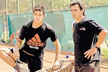 Después de vivir en Italia, Pérez Roldán se trasladó a Chile y trabajó en la formación de Cristian Garín, el actual 18º del ranking.