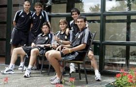 En la vigilia de la final sonríen Armenteros, Formica, Oberman, Paletta, Barroso y Cabral; cada uno integra una comisión