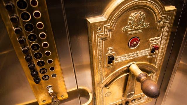El ascensor, de lujo