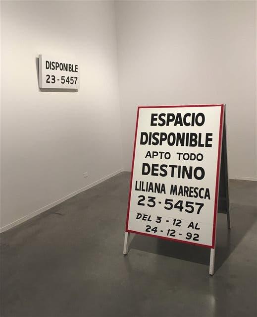 Obra de Liliana Maresca en el Museo de Arte Moderno de Buenos Aires