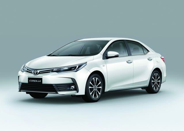La versión 2017 del Toyota Corolla