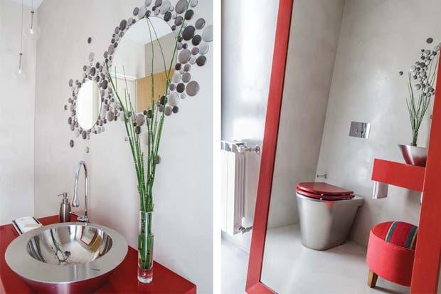 Bachas Para Baño Roja:dueños de casa pidieron que el toilette tuviera la menor cantidad de