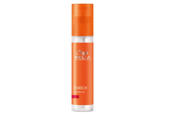Enrich Hair Ends Elixir. Satura y sella las puntas (Wella Care, $185).