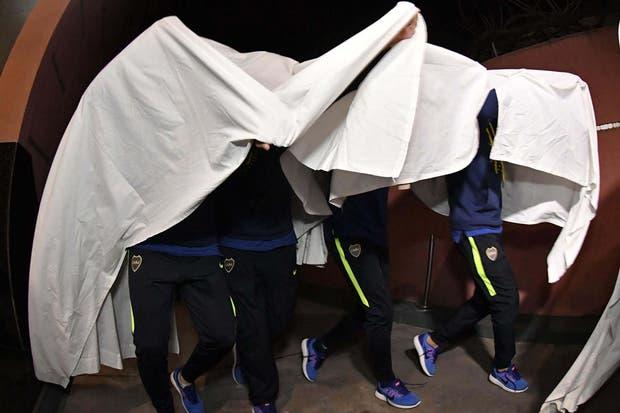 Las burlas a River de los jugadores de Boca en el festejo