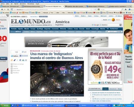 El Mundo, de España.