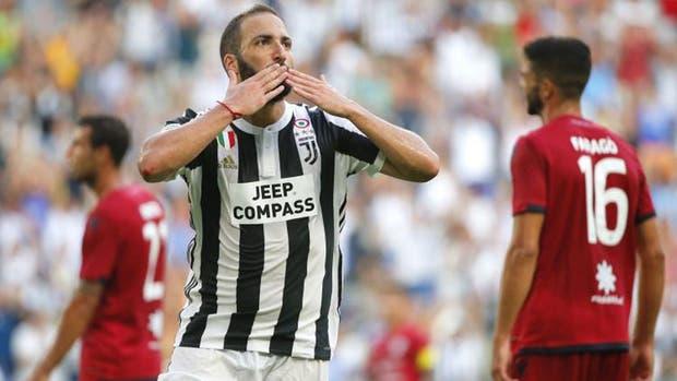 Gonzalo Higuaín es uno de los mejores pagos del Calcio