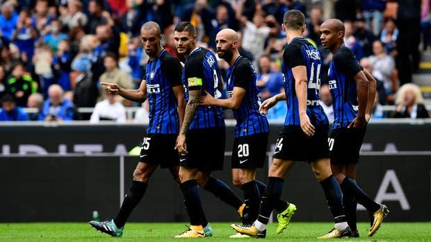 Icardi marcó en el triunfo de Inter
