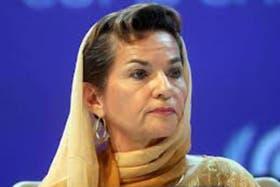 La secretaria ejecutiva del clima de la ONU, encabezó las negociaciones en Doha, Qatar