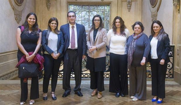 La misión de la OEA, días atrás, junto con la titular de la Oficina Anticorrupción, Laura Alonso