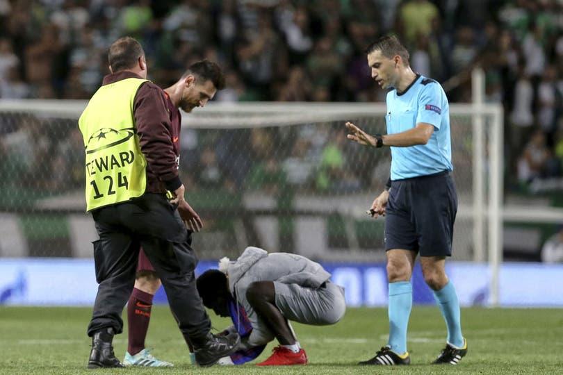 Messi y su otro partido en Lisboa