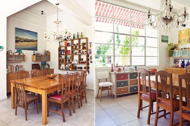 Decorar el comedor comedor con mesa puesta mantel for Comedores estampados