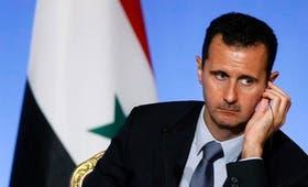 """""""Hemos desafiado a Estados Unidos y Francia a llevar una sola prueba sobre un ataque químico"""", dijo Al Assad"""