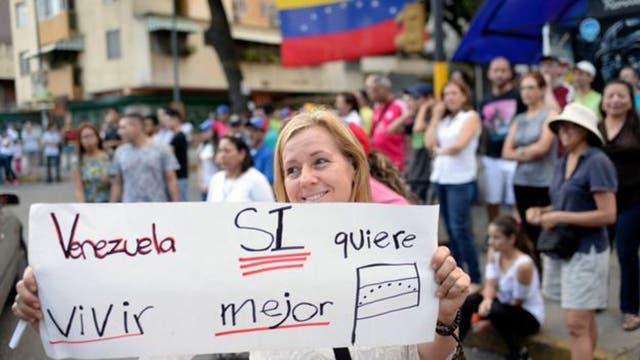 Venezuela lleva cuatro meses de protestas que dejaron más de 100 personas muertas.