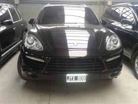 El Porsche Cayenne Turbo, modelo 2011, fue importado de Alemania, en $ 710.000