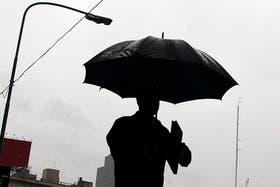 Lluvia y alerta de granizo en Buenos Aires