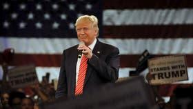 El magnate millonario Donald Trump