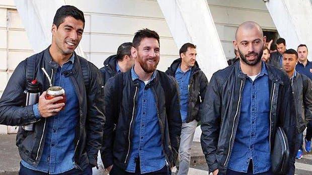 Suarez, Messi y Mascherano, protagonistas del clásico