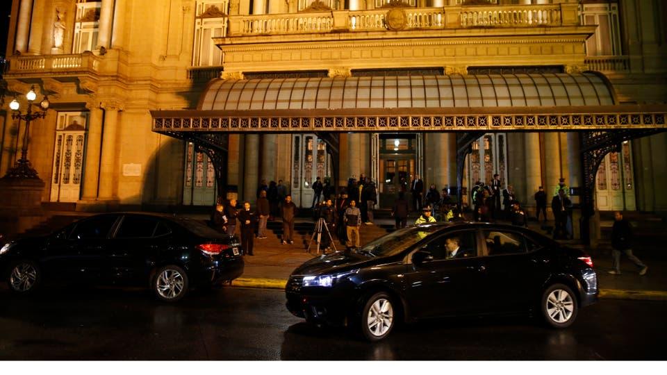 El Teatro Colón fue el escenario elegido para la noche de gala. Foto: LA NACION / Fabián Marelli