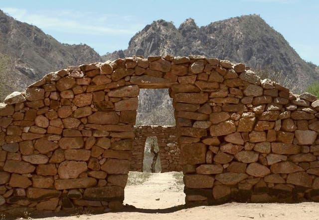 Las ruinas de Shincal de Quimivil, en Catamarca