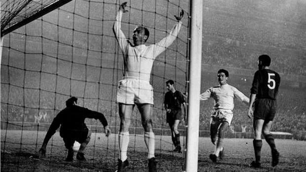 Real Madrid y Barcelona, con Alfredo Di Stéfano, en los años cincuenta