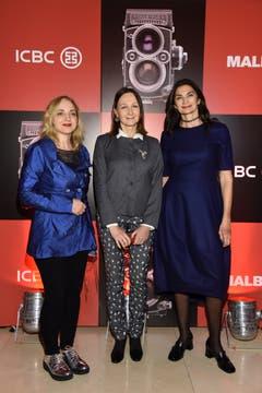 Nicola Costantino, Teresa Anchorena y Mariana Arias .
