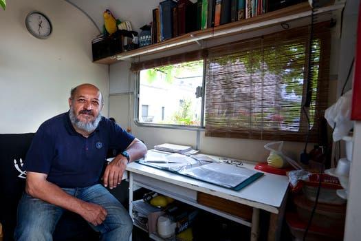 Andrés se muestra orgulloso de los logros que cosechó en los últimos años. Foto: LA NACION / Ezequiel Muñoz
