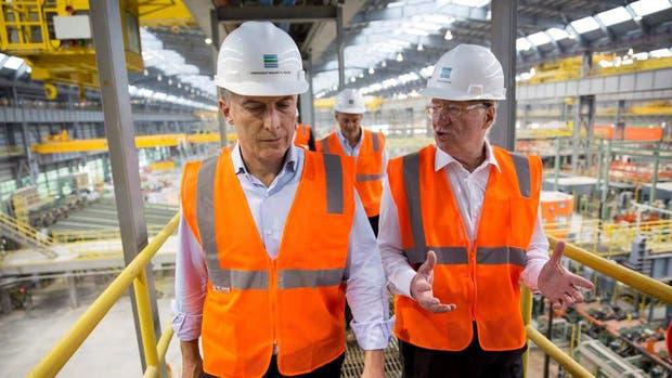 Mauricio Macri se reunió con Paolo Rocca quien le anuncio inversiones millonarias en una planta de EE.UU.