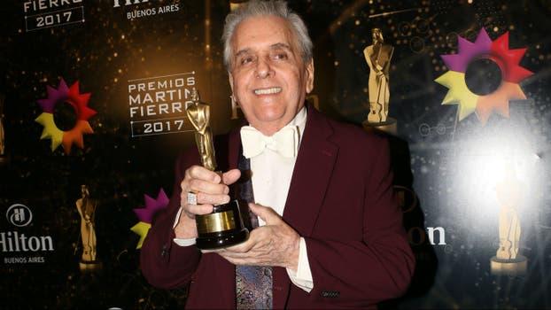 Antonio Gasalla, comediante ganador. Foto: LA NACION / Gerardo Viercovich