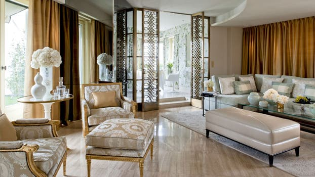 La suite Penthouse, de 160 metros cuadrados. Foto: Four Seasons