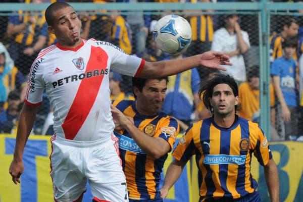 Trezeguet jugó en el Gigante contra Central en el Nacional B
