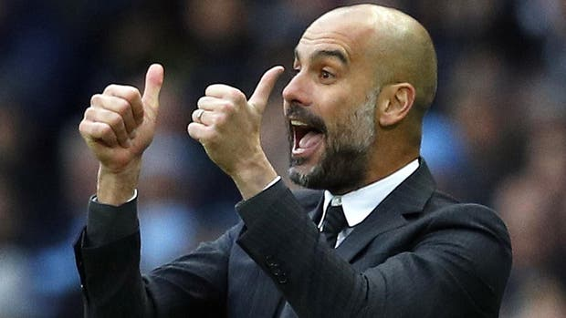 Pep Guardiola, DT de Manchester City