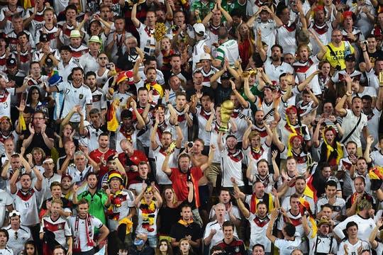 Alemania se coronó campeón de la Copa del Mundo. Foto: AFP