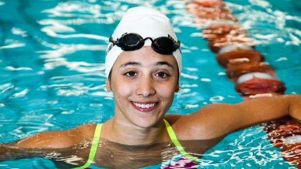 Delfina Pignatiello entró en la historia de la natación argentina