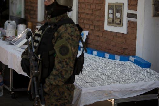 Detuvieron en Olivos a 13 personas que pretendían vender 30.000 dosis de éxtasis. Foto: LA NACION / Aníbal Greco