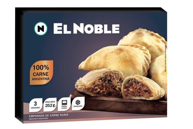 Las empanadas de carne que comenzarán a vender en el mercado español