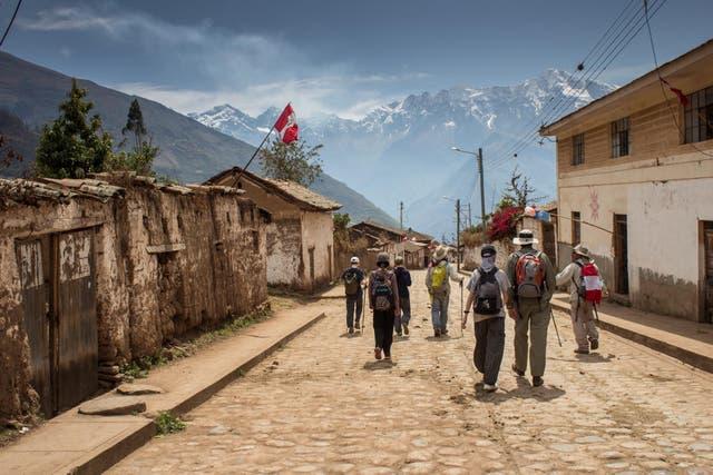 Cachora, pueblo colonial que se visita al principio y el fin del trekking. Foto: Luis Agote