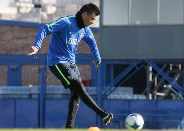 Boca: Goltz está en duda para el partido con Patronato