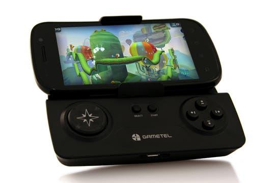El joystick inalámbrico para smartphones de Gametel. Foto: Gentileza gametel.se