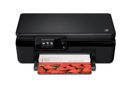 HP Advantage 5525: inyección de tinta multifunción, permite impresión, copia y escaneo, con conexión USB / Wi-Fi.