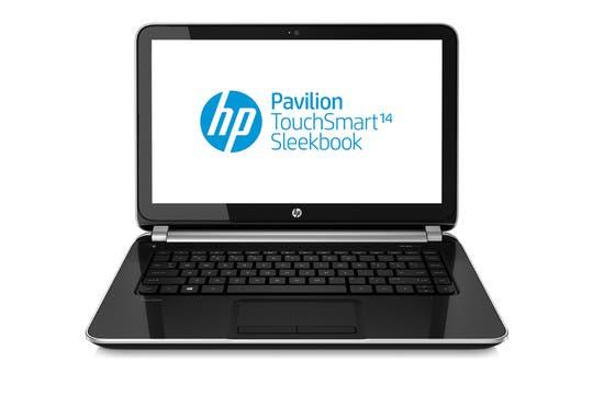 HP Pavilion TouchSmart Sleekbook.