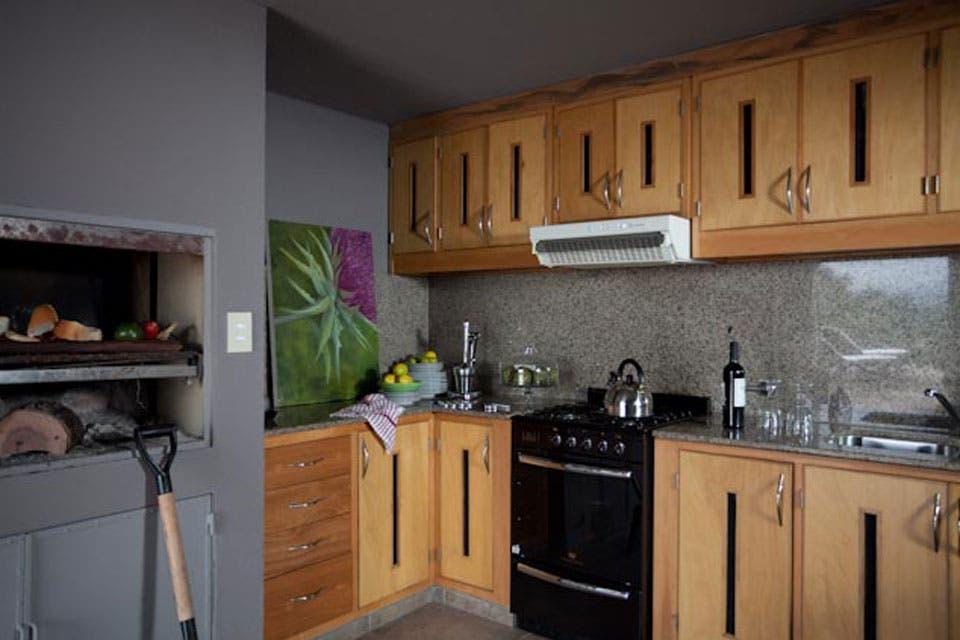 Cocinas con la calidez de la madera