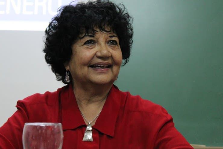 Dora Barrancos (77) es directora por Ciencias Sociales y Humanidades del Conicet
